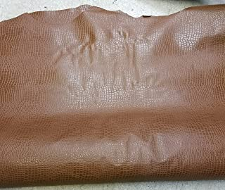 alligator embossed leather hide