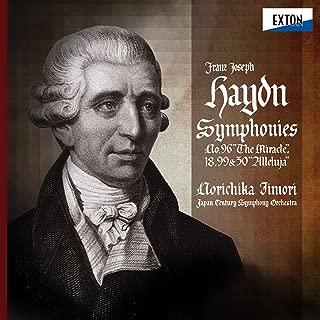 Haydn: Symphonies Vol. 3>Haydn: Symphonies No. 99, No. 30 ''Alleluja'', No. 96 ''The Miracle'' & No. 18