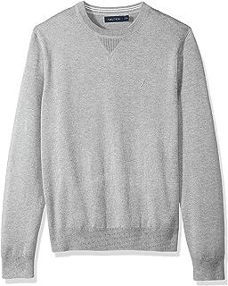 Nautica Light Weight Crew Neck Solid Sweater
