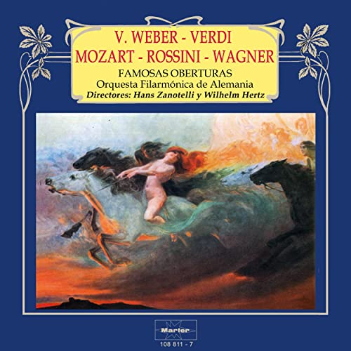 Famosas Oberturas: Weber - Verdi - Mozart - Rossini - Wagner