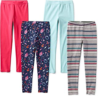 Amazon Brand - Spotted Zebra Girls' Toddler & Kids 4-Pack...