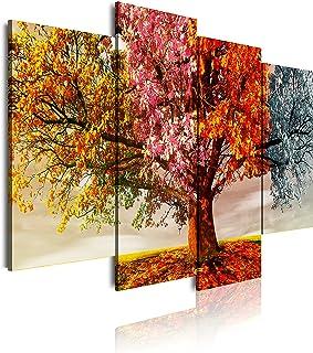 DekoArte 402 - Impression Sur Toile Moderne D'Images Artistiques Numérisées | Toile Décorative Pour Votre Salon Ou Votre C...