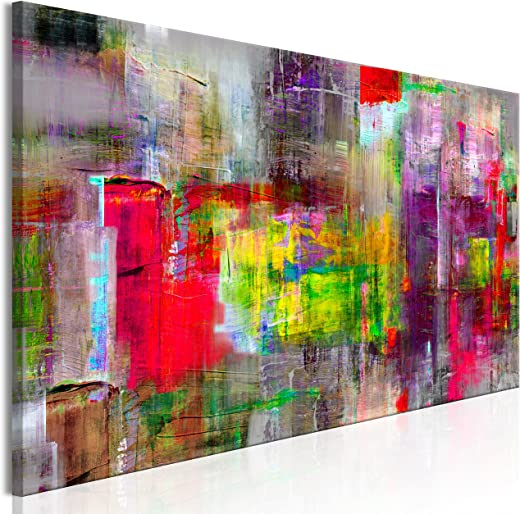 murando – Bilder 135×45 cm Vlies Leinwandbild 1 TLG Kunstdruck modern Wandbilder XXL Wanddekoration Design Wand Bild – Abstrakt a-A-0217-b-b