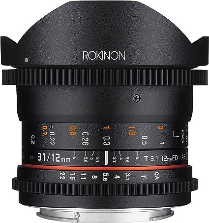 Rokinon Cine Ds 12 Mm T3 1 Ultra Wide Cine Fisheye Kamera