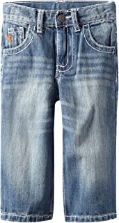 Wrangler Little Boys' Relaxed Fit Straight Leg Watch Pocket Jeans