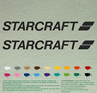 starcraft boat decals