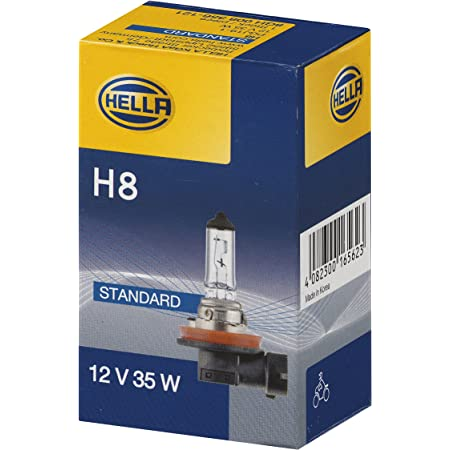 Set 2 X H8 12v 35w Pgj19 1 Glühlampe Glühbirne Elektronik