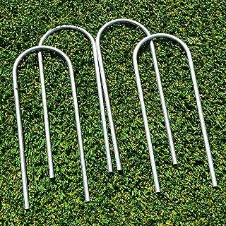 FORZA Fußballtorpfostenanker – robuste U-Stifte für PVC Fußballtore