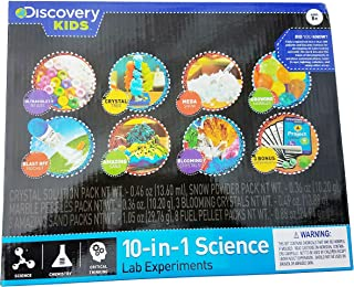 Discovery Kids 10-In-1 Science Lab Experiments