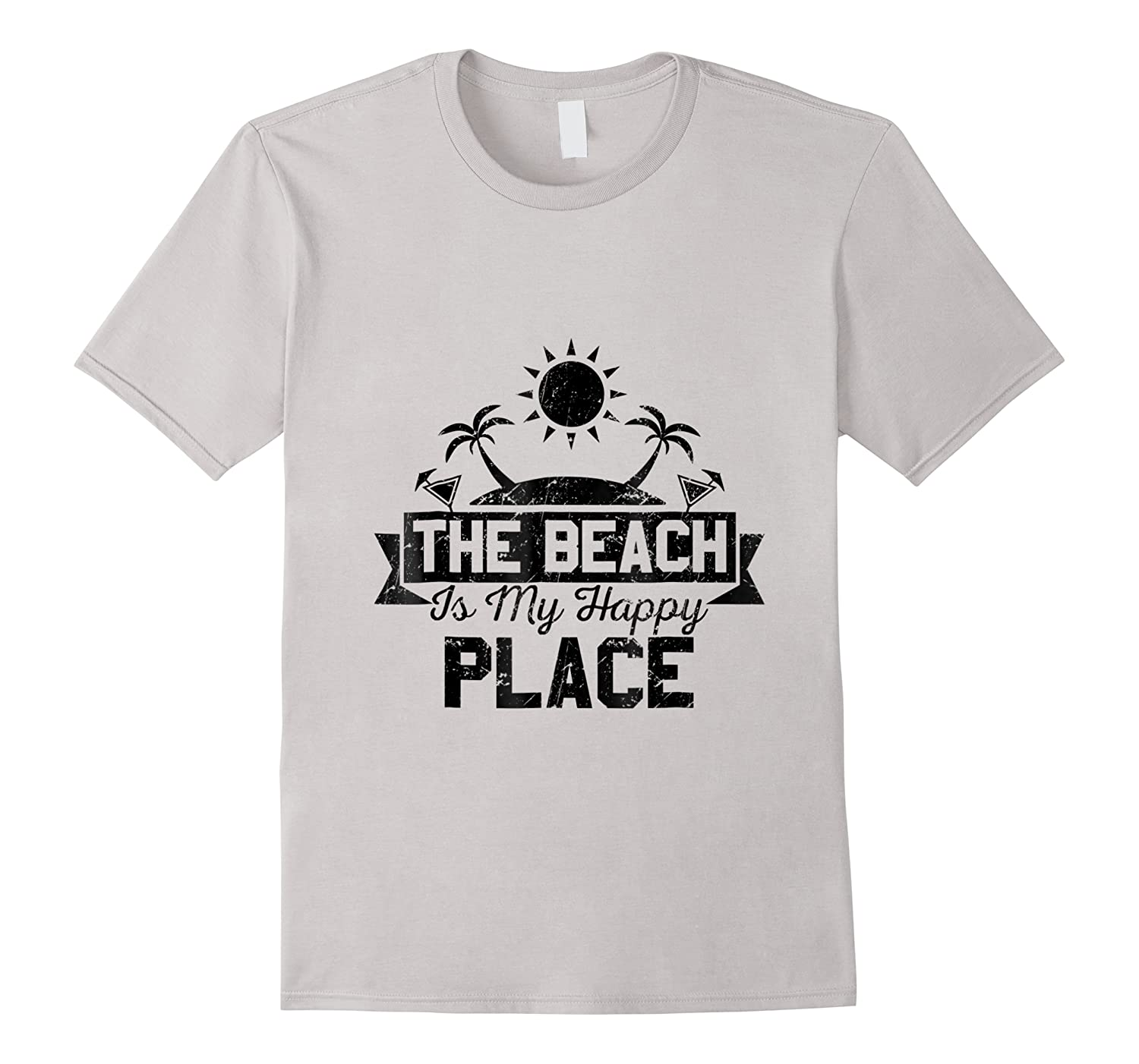 The Beach Is My Happy Place Shirts