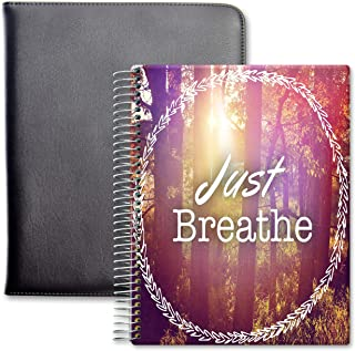 $64 » Tools4Wisdom Leather Planner 2021-2022 - April 2021 to June 2022 Academic Calendar - 8.5 x 11 Full-Color Daily Planner Pag...