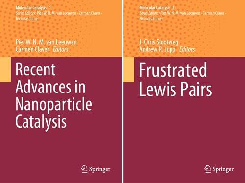 Molecular Catalysis (2 Book Series)