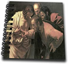 3dRose db_130126_3 The Doubting of St. Thomas by Caravaggio - Mini Notepad, 4 by 4