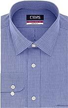 """قمصان رجالي من Chaps بياقة واسعة بتصميم متوسط المقاس -  Dress Shirts Regular Fit Check Spread Collar 17""""-17.5"""" Neck 32""""-33"""" Sleeve"""