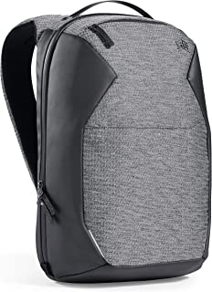 STM STM Myth Backpack featuring luggage pass-through 18L/ 15-Inch Laptop - Granite Black (stm-117-186P-01), stm-117-186P-01