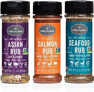 fire and flavor salmon rub