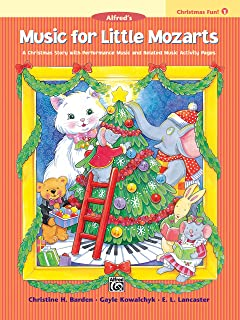 Music for Little Mozarts Christmas Fun - 1
