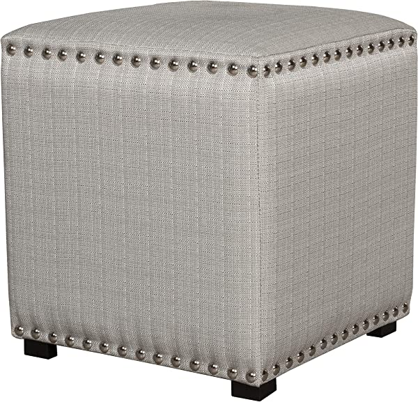Hillsdale Furniture 50991 Lani Vanity Stool Light Linen Gray