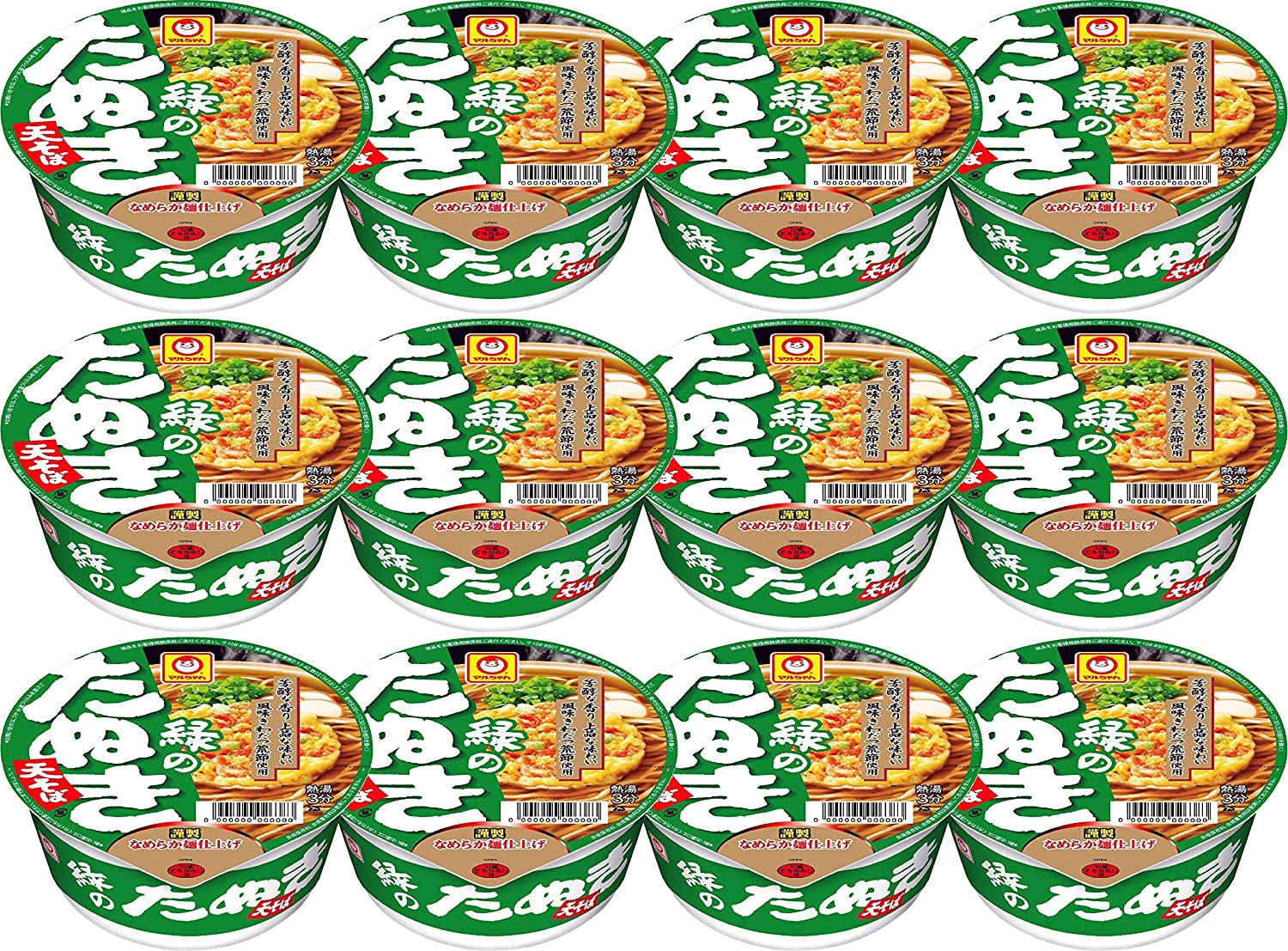 Maruchan Super beauty product restock quality top Midori Tanuki Soba 3.49-Ounce 12 New products, world's highest quality popular! Pack of Units