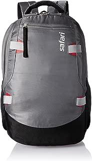 Safari Brisk Polyester 40 Ltrs Grey Laptop Backpack (Brisk)