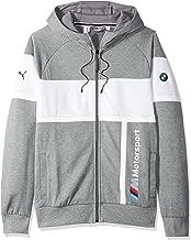 Motorsport Men's BMW Full Zip Hoodie , X-Large, Medium Gray Heather