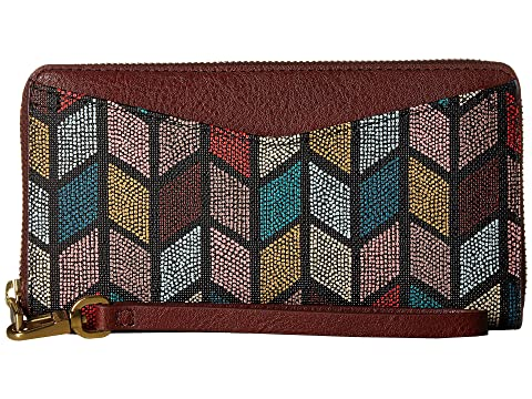 Fall Zip Multi Cartera Fossil Around RFID Caroline CqwH0AX