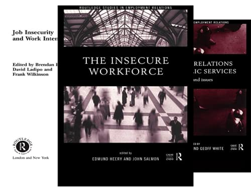Routledge Studies in Employment Relations (11 Book Series)