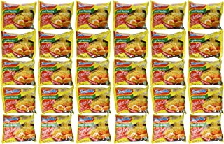 Indomie Instant Noodles Soup Chicken Curry Flavor for 1 Case (30 Bags)