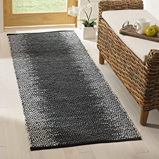 Safavieh Vintage Leather Collection VTL389B Light Grey and Charcoal Runner, 2'3