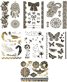 Terra Tattoos Temporary Henna - 75 Fake Tattoos