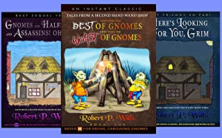 BOX SET - Books 1-3 of the Tales From a Second Hand Wand Shop series: 330K words spread across 750+ pages full of Magic, M...