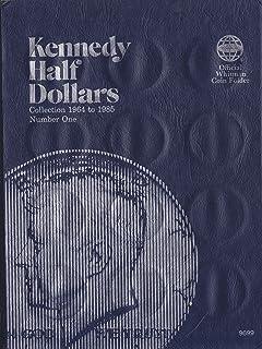 ISBN 0-307-09699-8 JFK KENNEDY HALF DOLLAR Whitman 1964-1985 No 9699 COIN; ALBUM, BINDER, BOARD, BOOK, CARD, COLLECTION, F...