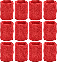 Unique Sports Wristbands/Sweatbands Pack of 12 (6 pair)
