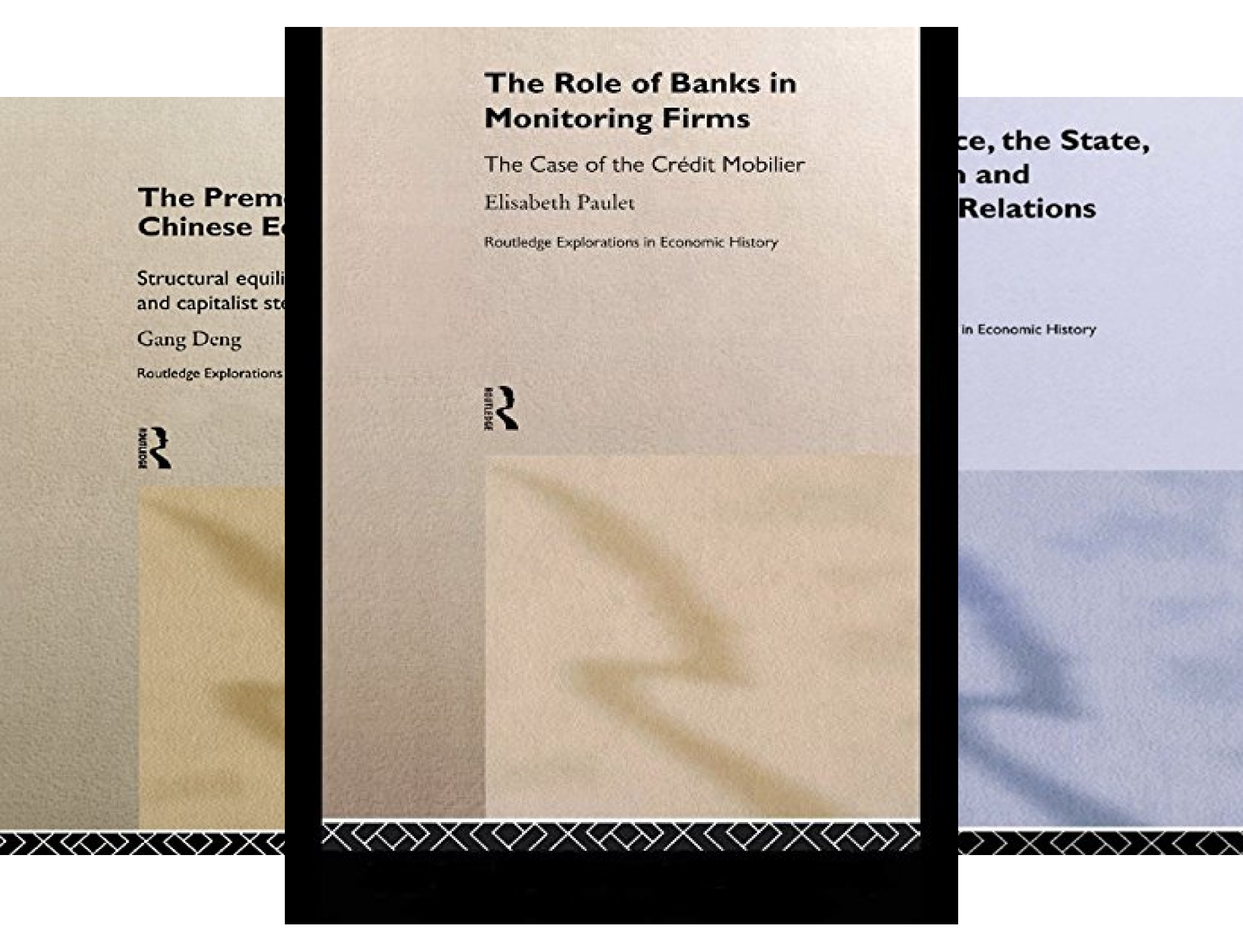 Routledge Explorations in Economic History (29 Book Series)