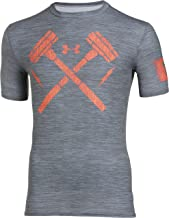 Under Armour Men's UA Combine Training Hammers Compression T-Shirt (Small)