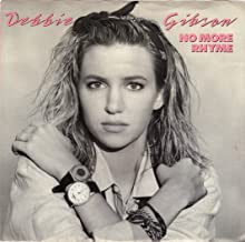 GIBSON, Debbie/No More Rhyme/45rpm record + picture sleeve
