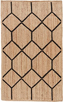 Jaipur Living Aten Natural Fiber Tribal Neutral Area Rug (8 X ...