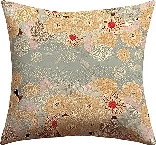 Deny Designs Iveta Abolina Creme De La Creme Outdoor Throw Pillow, 18 x 18