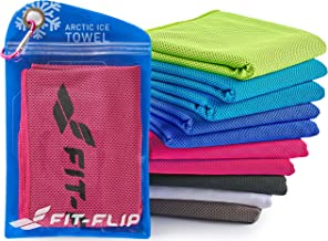 100 cm * 30 cm Camping Sport Dulabei 8 Packungen Cooling Towel K/ühlhandtuch Sporthandtuch Fitness Handtuch K/ühl Handtuch F/ür Yoga Laufen Fitness Training