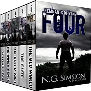 Remnants of Zone Four Chronicles BOX SET (five books): a dystopian post-apocalyptic science fiction series