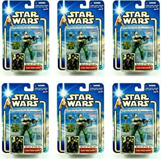Army Builder ENDOR REBEL SOLDIER (RETURN OF THE JEDI) 6 Figure Pack * BUILD YOUR ARMIES * Star Wars 2002 Collection 2 Action Figure Set
