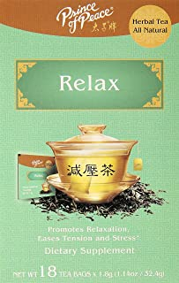 PRINCE OF PEACE Relax Tea 18 Bag, 0.02 Pound