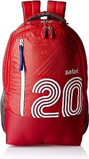 Safari 27 Ltrs Red Casual Backpack (Twenty)