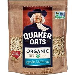Quaker Quick 1 Minute Oats, Organic, Non-GMO