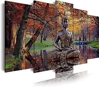 DekoArte 17 - Impression sur Toile Moderne D'Images Artistiques Numérisées | Toile Décorative pour Votre Salon Ou Votre Ch...