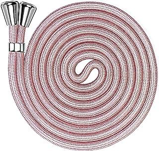 ONEFLOW Ersatzkordel für alle Handys | Handykette ohne Hülle   Stylisches Band zum Umhängen, frei verstellbar bis 155cm | Extrakordel in Rosa Rosé Gold