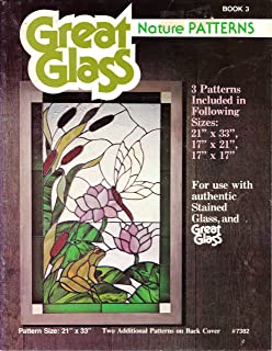 stained glass patterns nature scenes