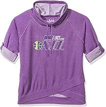 Touch by Alyssa Milano NBA New Orleans Jazz Wildcard Top Plus, 3X, Purple
