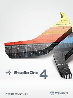 PreSonus Studio One 4 Professional Recording Software Suite [Online Code]