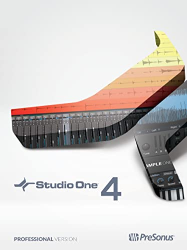 PreSonus Studio One 4 Professional Recording Software Suite